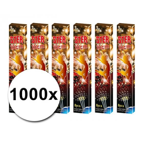 1000 sterretjes
