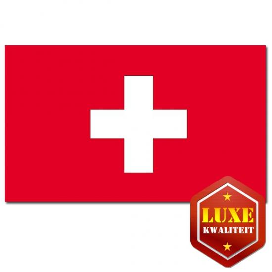 Gevel vlag Zwitserland 100 x 150 cm
