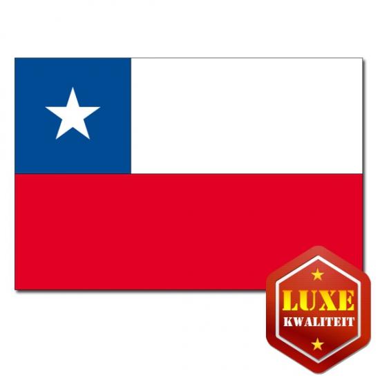 Landen vlag van Chili