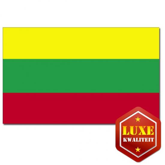 Landen vlaggen van Litouwen