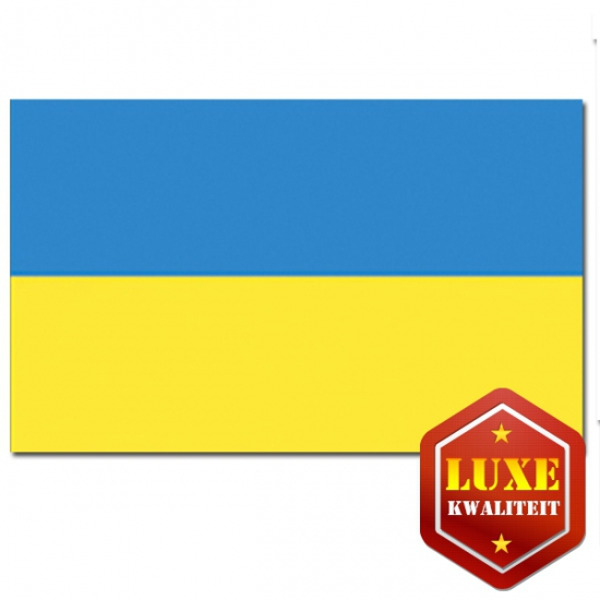 Landen vlaggen van Oekraine