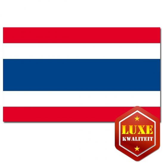 Landen vlaggen van Thailand
