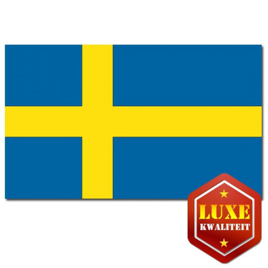 Landen vlaggen van Zweden