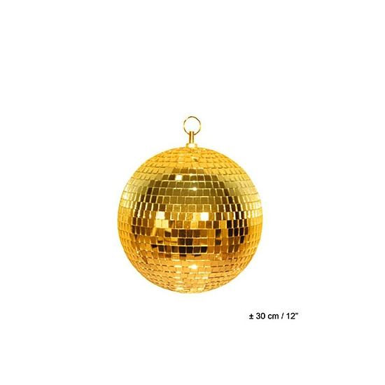 Spiegelbol disco van 30 cm
