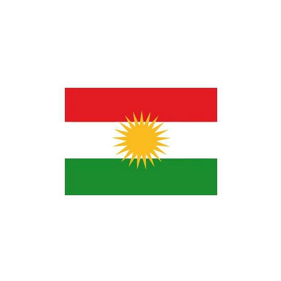 Stickers Koerdistan vlaggen