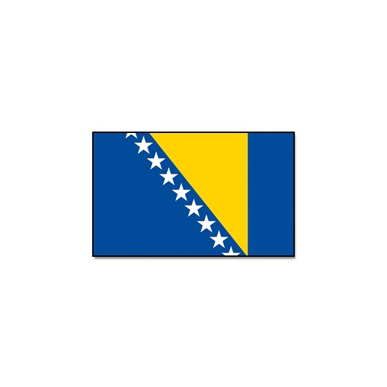 Vlaggen Bosnie en Herzegovina