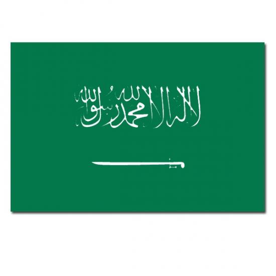 Vlaggen Saoedi Arabie