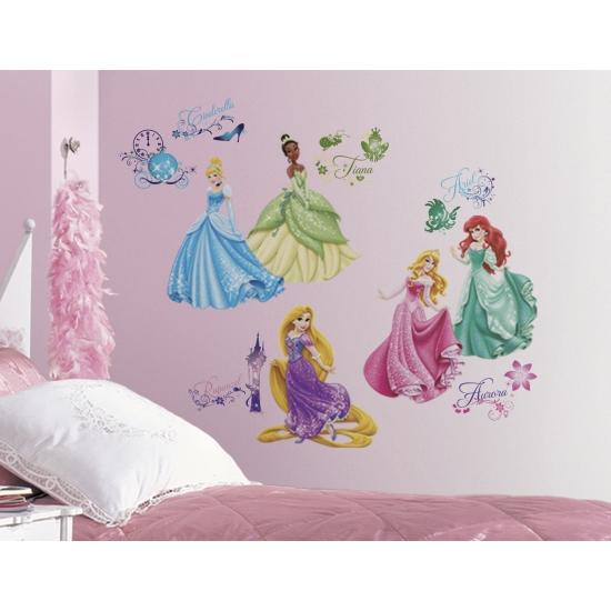 Wandstickers Prinsessen