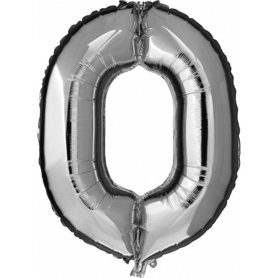 Geen 0 jaar geworden cijfer ballon Leeftijd feestartikelen