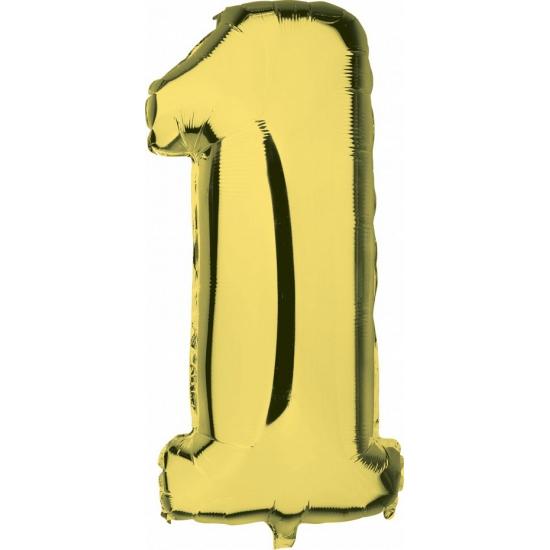 Leeftijd feestartikelen Geen 1 jaar geworden cijfer ballon