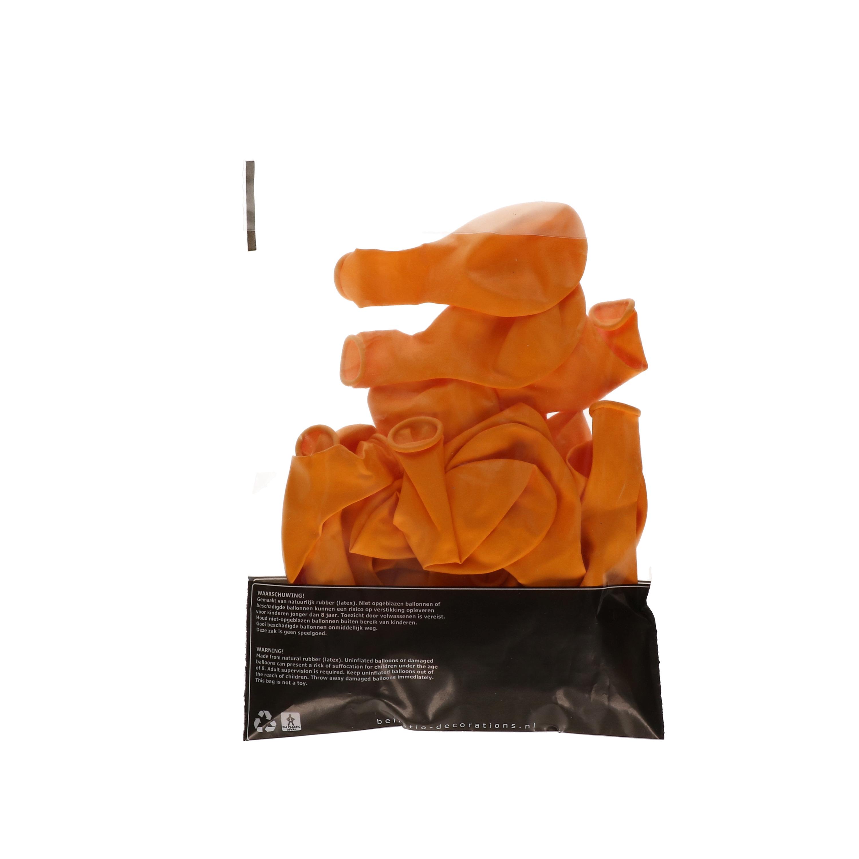 100 Oranje feest ballonnen Oranje artikelen beste