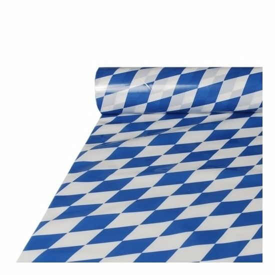 2x stuks Bayerns tafelkleed van plastic 20 x 1 meter