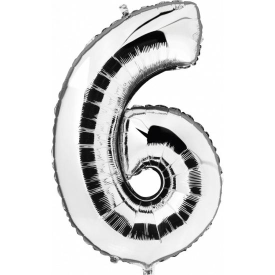 6 jaar geworden cijfer ballon Geen Leeftijd feestartikelen