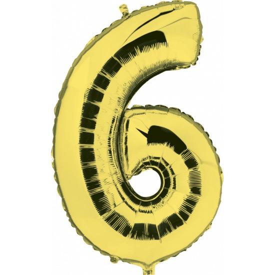 Leeftijd feestartikelen Geen 6 jaar geworden cijfer ballon