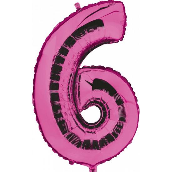 6 jaar geworden cijfer ballon Geen goedkoop online kopen