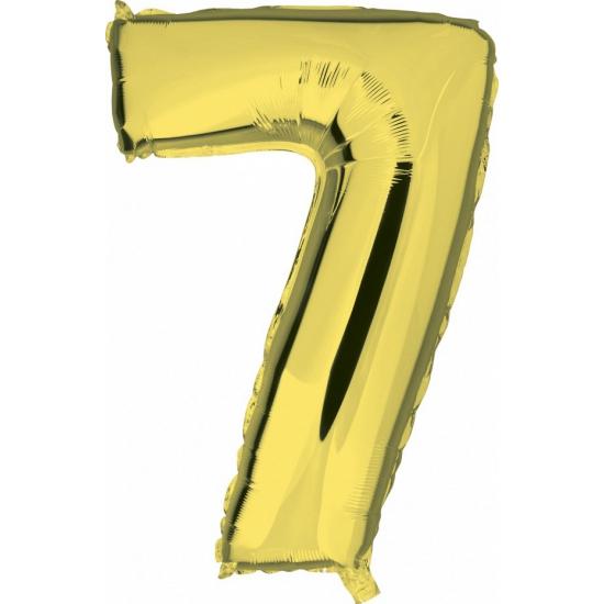 Geen 7 jaar geworden cijfer ballon Leeftijd feestartikelen
