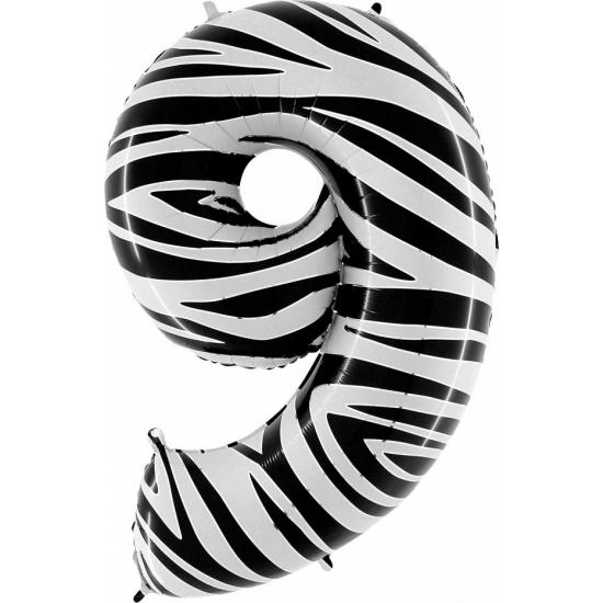 Leeftijd feestartikelen Geen 9 jaar geworden cijfer ballon