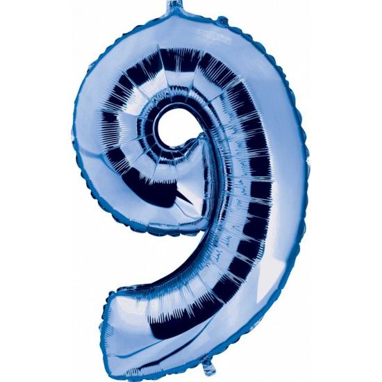 9 jaar geworden cijfer ballon Geen nieuw