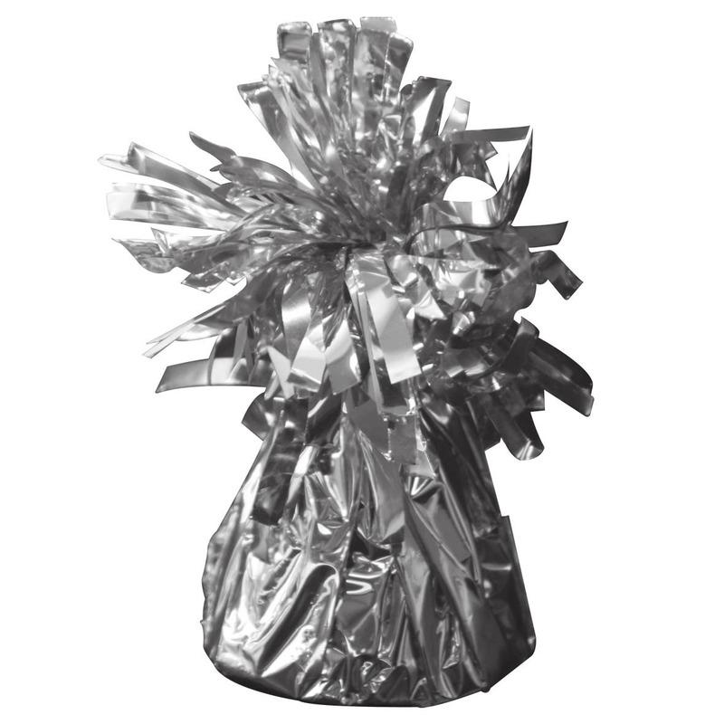 Feestartikelen diversen Geen Ballon zilveren gewicht 170 gram