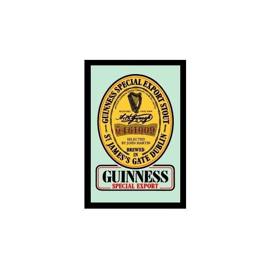 Cafe versiering Guinness wand spiegel