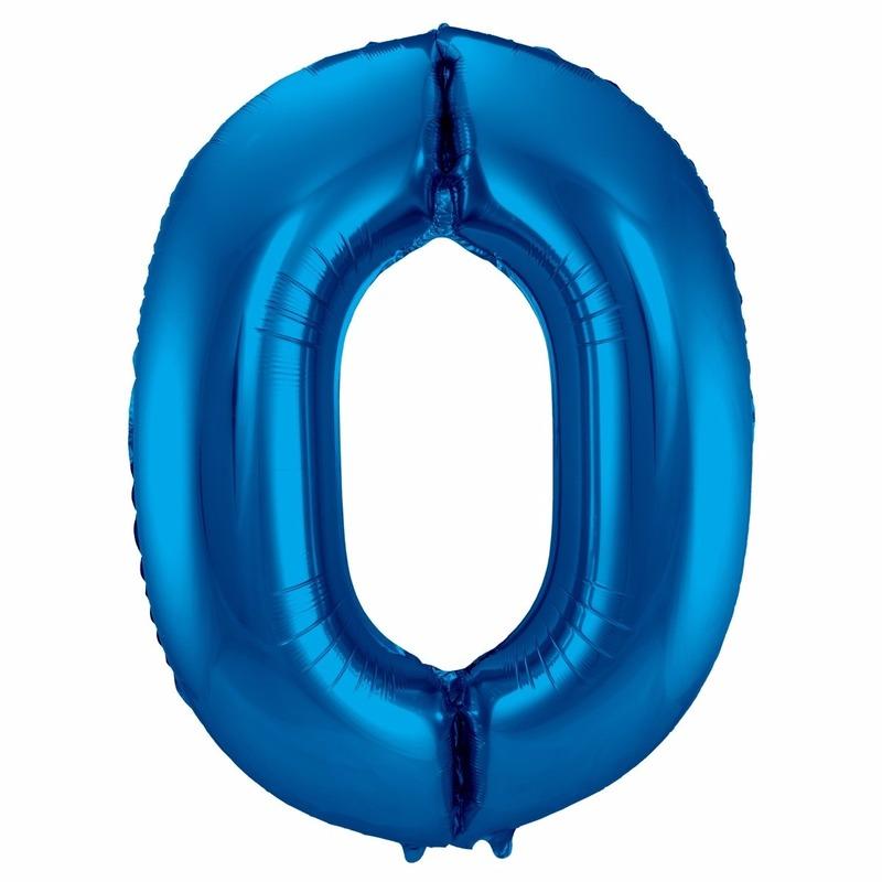 Leeftijd feestartikelen Bierfeest artikelen Cijfer ballonnen 0 86 cm