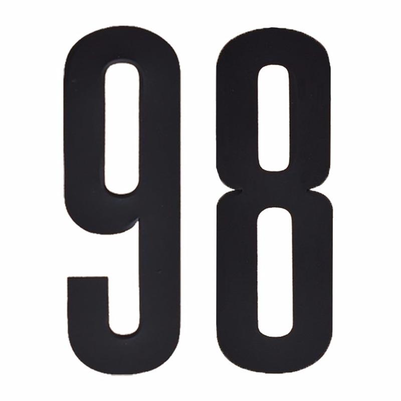 Cijfers / nummers stickers 98