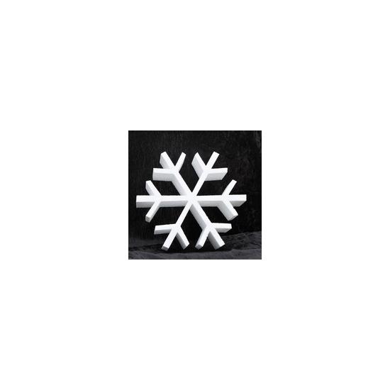 Hobby basismateriaal Decoratie ijskristal van piepschuim 40 cm