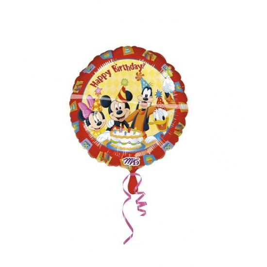 Feestartikelen diversen Disney Feestartikelen Mickey Mouse folie ballon