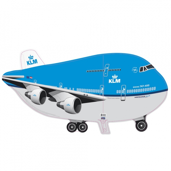Folie ballon KLM vliegtuig Folat Feestartikelen diversen