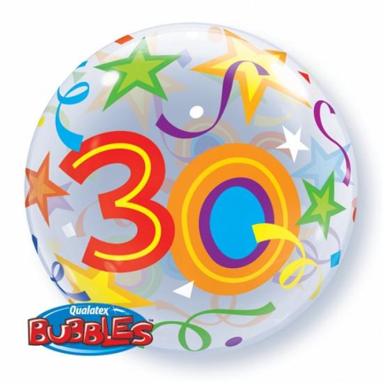 Folie ballon met helium 30 jaar Qualatex beste
