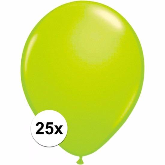 Groene ballonnetjes 25 stuks Shoppartners Premier