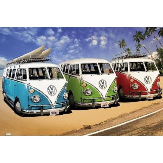 Grote posters van Volkswagen Camper