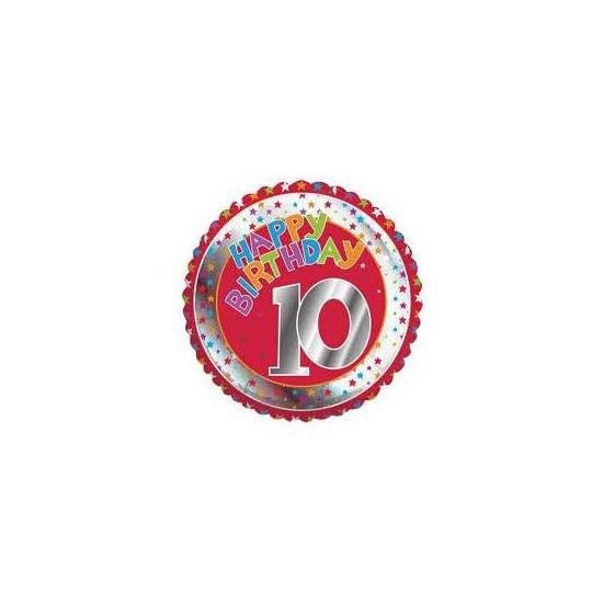 Happy Birthday 10 jaar verjaardag Bierfeest artikelen Feestartikelen diversen