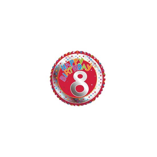 Happy Birthday 8 jaar verjaardag Bierfeest artikelen Feestartikelen diversen