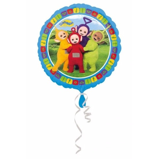 Feestartikelen diversen Teletubbies Helium ballon met Teletubbies print 43 cm