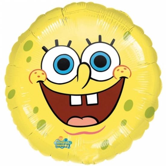 Kinderfeestjes Spongebob Lachende Spongebob folie ballon helium 43cm
