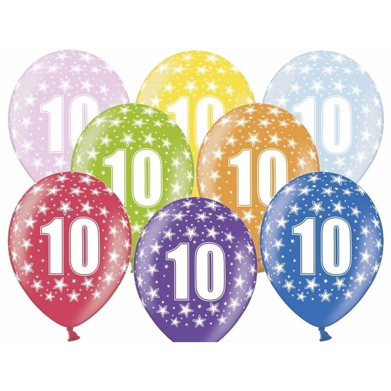 Leeftijd versiering sterren ballonnen 10 Geen Leeftijd feestartikelen