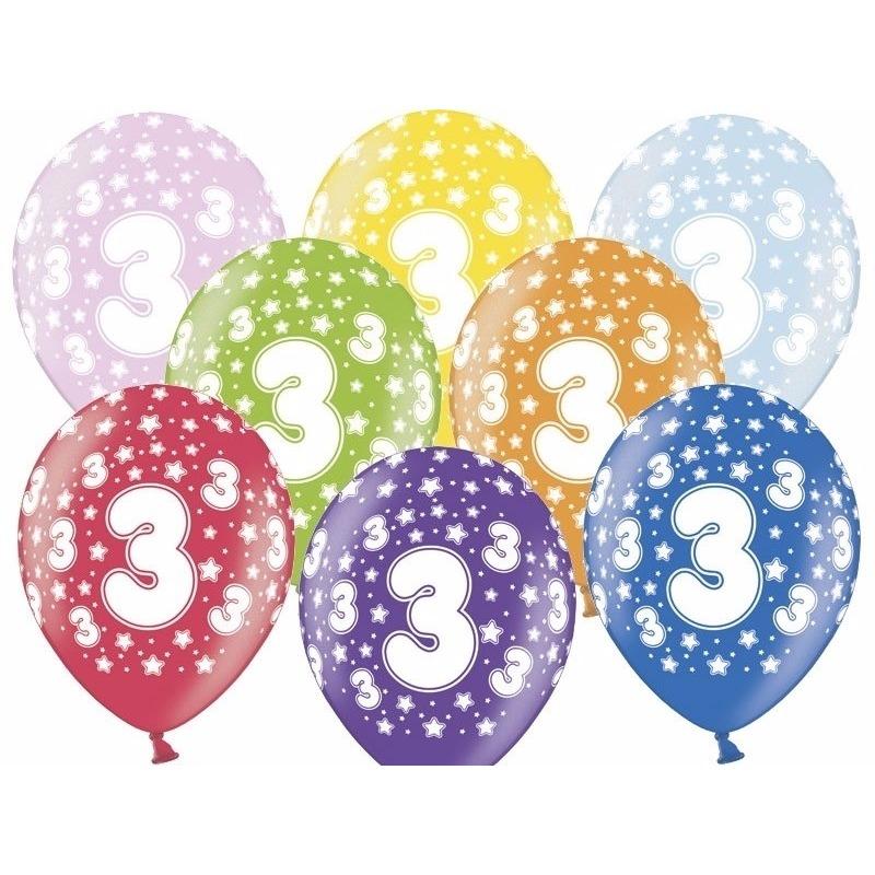 Leeftijd feestartikelen Geen Leeftijd versiering sterren ballonnen 3