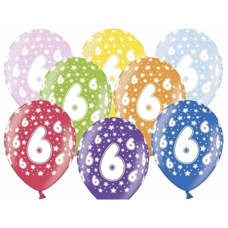 Leeftijd feestartikelen Geen Leeftijd versiering sterren ballonnen 6