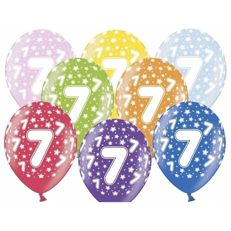 Leeftijd versiering sterren ballonnen 7 Geen Leeftijd feestartikelen
