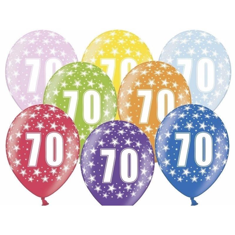 Geen Leeftijd versiering sterren ballonnen 70 Leeftijd feestartikelen