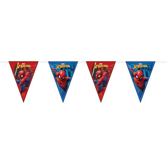 Marvel Spiderman themafeest vlaggenlijn 230 cm