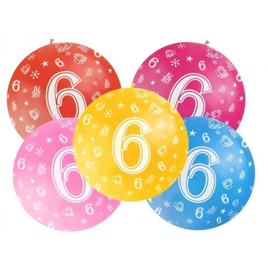 Geen Mega ballon 6 jaar Leeftijd feestartikelen