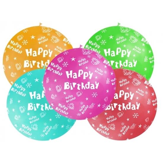 Feestartikelen diversen Geen Mega ballon Happy Birthday