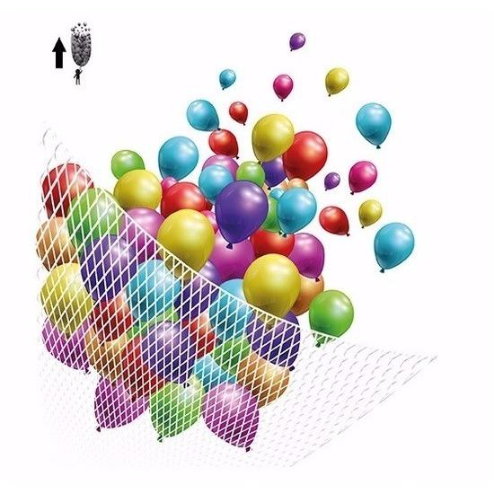 Feestartikelen diversen Geen Net voor helium ballonnen 200 stuks