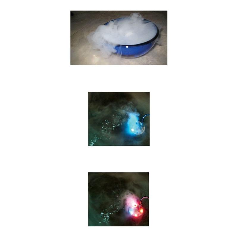 Rookmachines met licht