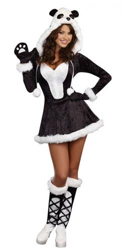 e0f2a5a6070a40 Dieren kostuum panda beer jurkje in de bierfeest winkel