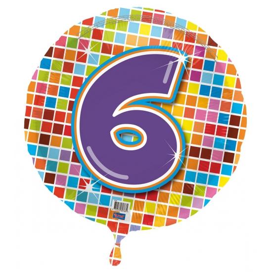 Leeftijd feestartikelen Geen Verjaardagsballon 6 jaar helium