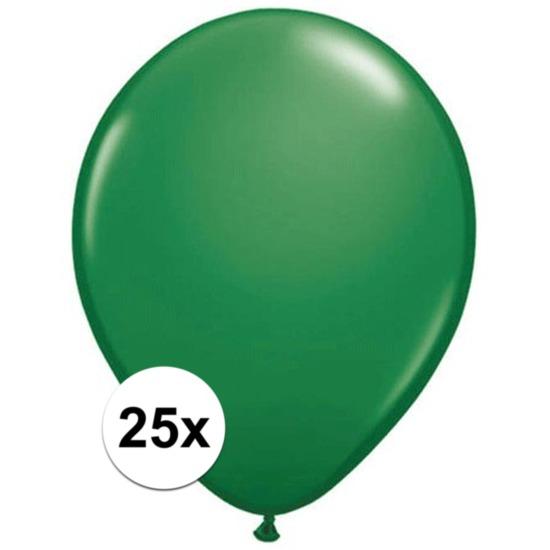 Shoppartners Ballonnen qualatex groen 25 stuks online kopen