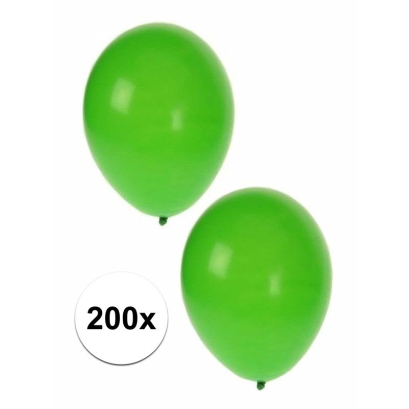 Shoppartners Groene party ballonnen 200 st online kopen